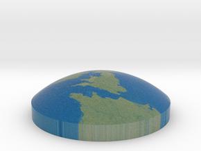 Omni globe United Kingdom in Full Color Sandstone
