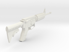 M4 in White Natural Versatile Plastic