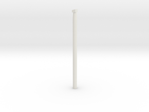 Leather Work Tool in White Natural Versatile Plastic