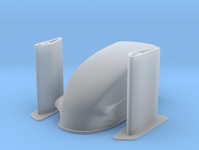 1/8 Scale Dragster Nose in Smooth Fine Detail Plastic