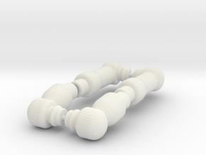 PEGO Arms in White Natural Versatile Plastic