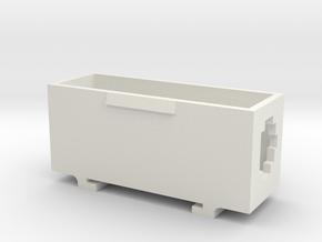 Boîte du contacteur in White Natural Versatile Plastic