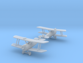 1/288 Airco D.H.5 set in Smooth Fine Detail Plastic