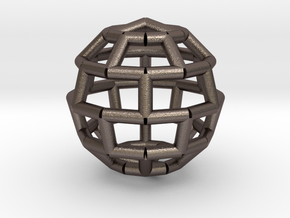 Brick Sphere 3 in Stainless Steel