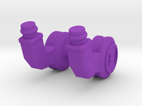 Servo Arms in Purple Strong & Flexible Polished