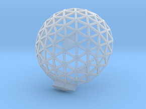 Geodesic Dome 6,1 1 in Smooth Fine Detail Plastic