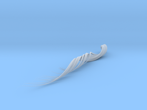 3D Brushstroke1 in Smooth Fine Detail Plastic