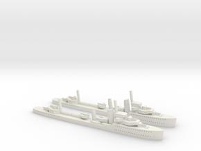 Regina Maria (Regele Ferdinand class) 1/1800 x2 in White Natural Versatile Plastic