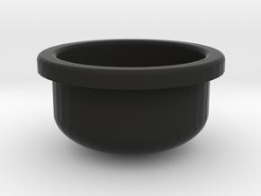 Columbia Grafonola Shallow Needle Dish  in Black Natural Versatile Plastic