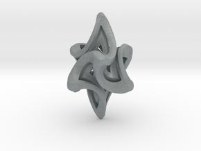 Flame Alpha Pendant in Polished Metallic Plastic