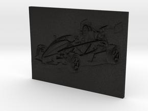 Aerial Atom V8 (3D Portrait) in Black Acrylic