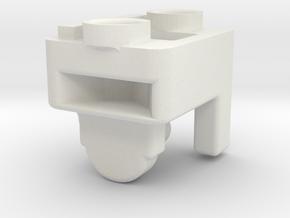 QuartetMountsRight 111002 in White Natural Versatile Plastic