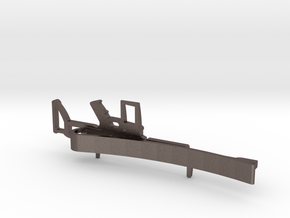 SCAR17 MONEY/TIE CLIP in Polished Bronzed Silver Steel