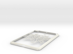 Ipad-cover-marios in White Natural Versatile Plastic