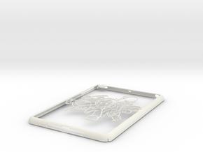 Ipad-cover-marios in White Natural Versatile Plastic