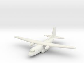 1:700 Transall C-160 military transport aircraft  in White Natural Versatile Plastic
