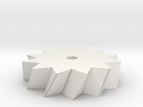 12stargear75 in White Natural Versatile Plastic