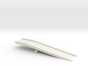 Laadbrug in White Natural Versatile Plastic