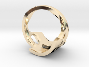 Threeve in 14K Yellow Gold
