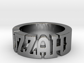 BlakOpal Huzzah Ring - Size 10.75 in Polished Silver