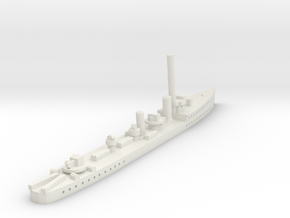HMS Thanet (Admiralty S class) 1/1800 in White Natural Versatile Plastic
