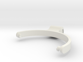 HeadphoneBracket in White Natural Versatile Plastic