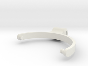 HeadphoneBracketMirror in White Strong & Flexible