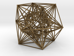 Inversion of Cuboctahedra in Natural Bronze