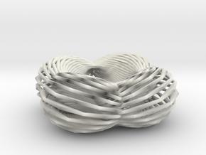 37knot twist in White Natural Versatile Plastic