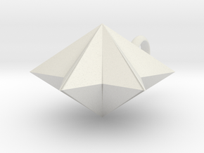 pyramid 6star charm in White Strong & Flexible