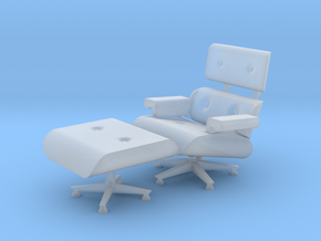 1:48 Eames Chair in Smooth Fine Detail Plastic