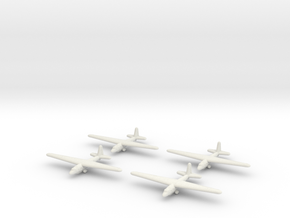 Aeronautica Lombarda AL-12P-1/1600 Scale (Qty.4) ( in White Strong & Flexible