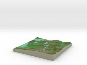 Terrafab generated model Fri Jan 03 2014 09:40:16  in Full Color Sandstone