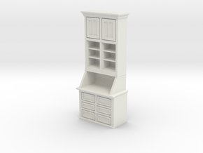 1:24 Cabinet in White Strong & Flexible