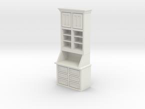 1:24 Cabinet in White Natural Versatile Plastic