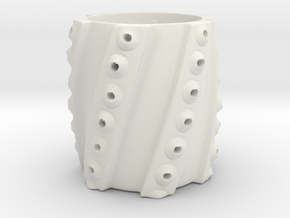 Squid Cup in White Natural Versatile Plastic