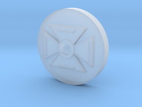 Symbol (15MM 5/8th Inch) in Smooth Fine Detail Plastic