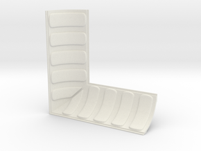 Architrave Corner in White Natural Versatile Plastic