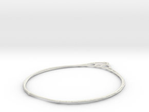 Minimalist Bracelet 3 in White Strong & Flexible