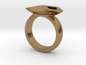 SqR in Natural Brass