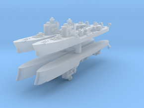Spica 1:2400 x4 in Smooth Fine Detail Plastic