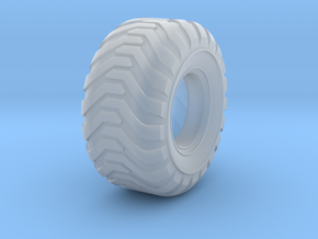 Industrial Style Floater Tire in Smooth Fine Detail Plastic