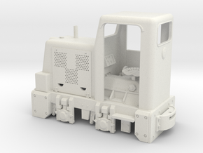 Feldbahn CKD BN 30U (Spur 0f) 1:45  in White Natural Versatile Plastic