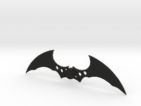 Arkham Batarang in Black Strong & Flexible