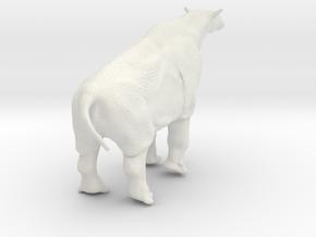Indricotherium  12cm in White Natural Versatile Plastic