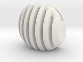 TriggerStix - DeVILBISS DAGR - Small in White Natural Versatile Plastic