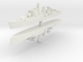 Commandante Riviera A 1:2400 x2 in White Natural Versatile Plastic