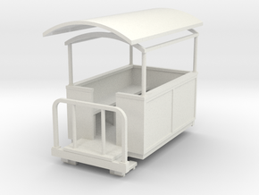 Sn2 short semi-open coach  in White Natural Versatile Plastic