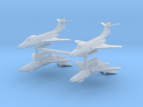 F-101 Voodoo 1:600 x4 in Smooth Fine Detail Plastic