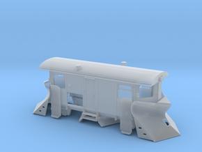 Schmalspur Schneepflug TTe (1:120) in Smooth Fine Detail Plastic